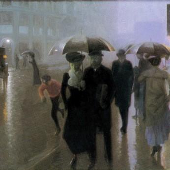 Julius von Ehren Regenwetter 1907